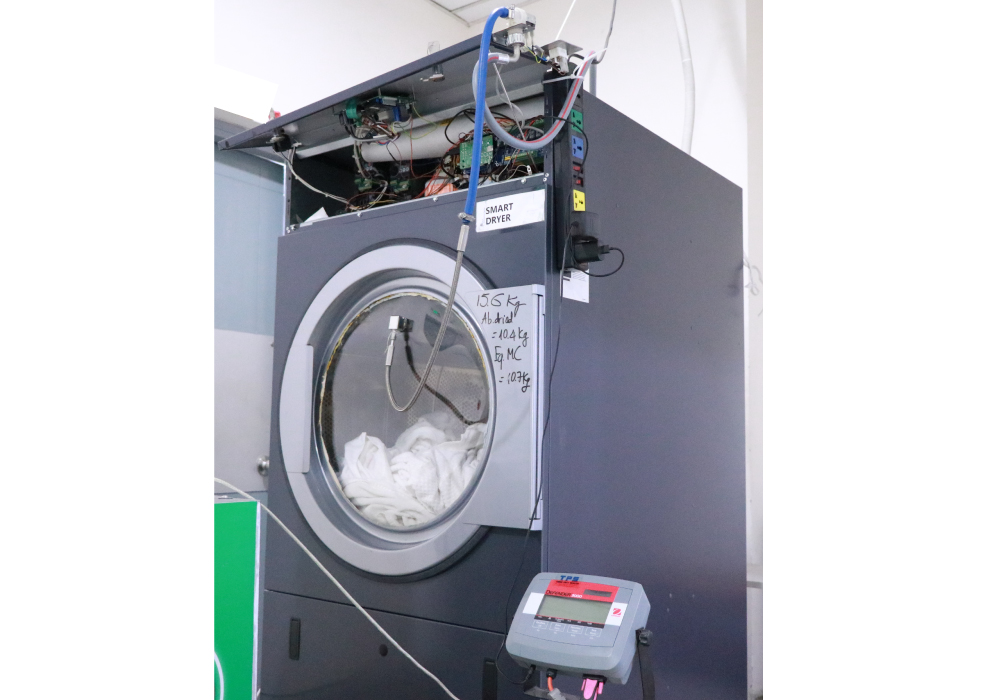 TMA Innovation Smart Clothe Dryer optimized with Artificial Intelligence/Machine Learning (AI/ML)