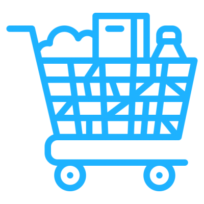 Supermarket Trolley Icon